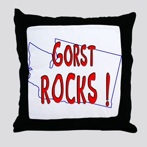 Gorst Rocks ! Throw Pillow