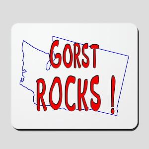 Gorst Rocks ! Mousepad