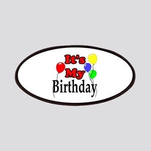 Its My Birthday Patch