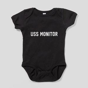 USS Monitor Baby Bodysuit