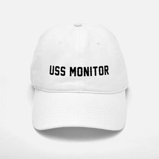 USS Monitor Baseball Baseball Cap