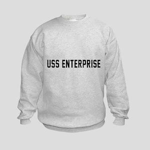 USS Enterprise Kids Sweatshirt
