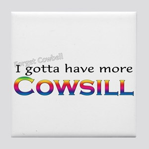 More Cowsill Rainbow Tile Coaster
