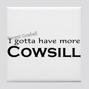 More Cowsill Tile Coaster