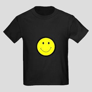 SMILEY FACE APPLIQUE T-Shirt