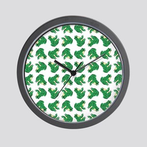 FROGS, FROGS... EVERYWHERE! Wall Clock