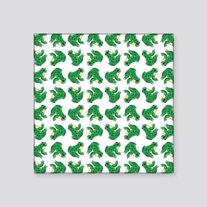 """FROGS, FROGS... EVERYWHERE! Square Sticker 3"""" x 3"""""""