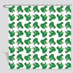 FROGS, FROGS... EVERYWHERE! Shower Curtain