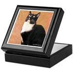 Curious Cat Keepsake Box