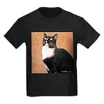 Curious Cat Kids Dark T-Shirt
