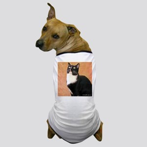 Curious Cat Dog T-Shirt