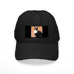 Curious Cat Black Cap