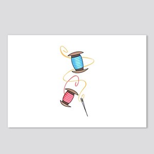 NEEDLE AND THREAD Postcards (Package of 8)