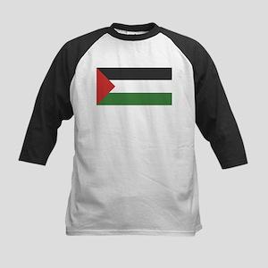 Palestine Flag Kids Baseball Jersey