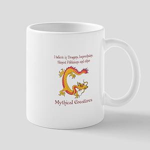 I Believe In Dragons Mugs