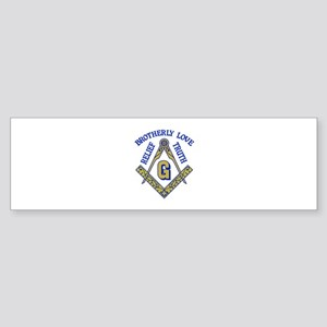 Brotherly Love Relief Truth Bumper Sticker