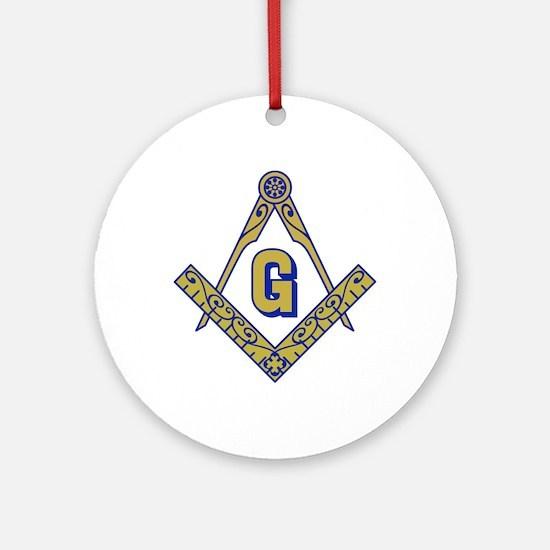 MASONIC EMBLEM Ornament (Round)