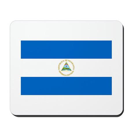 Nicaraguan Flag Mousepad
