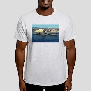 USS Coral Sea Ship's Image Light T-Shirt