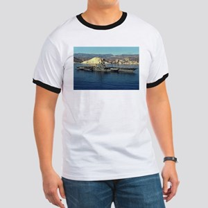 USS Coral Sea Ship's Image Ringer T