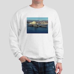 USS Coral Sea Ship's Image Sweatshirt