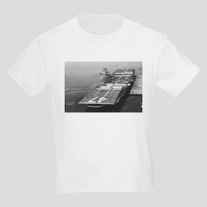 USS Philippine Sea Ship's Image Kids Light T-Shirt