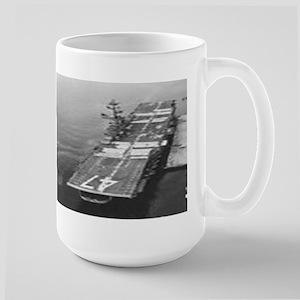 USS Philippine Sea Ship's Image Large Mug