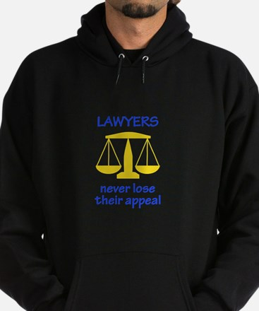 Lawyers Never Lose Their Appeal Hoodie