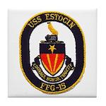 USS ESTOCIN Tile Coaster