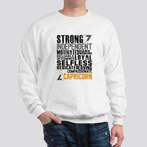 Strong Independent Motivated Capricorn Sweatshirt