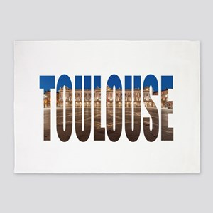 Touloouse 5'x7'Area Rug