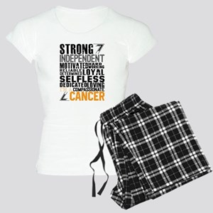 Strong Independent Motivated Cancer Pajamas