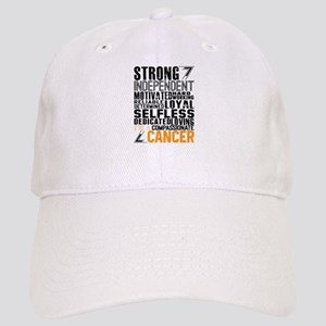 Strong Independent Motivated Cancer Baseball Cap