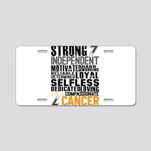 Strong Independent Motivated Cancer Aluminum Licen