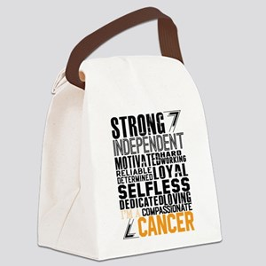 Strong Independent Motivated Cancer Canvas Lunch B