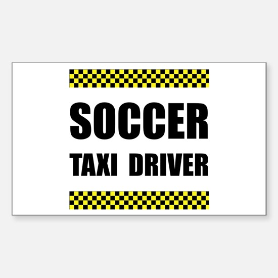 Soccer Taxi Driver Decal