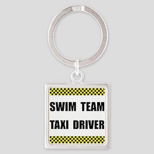 Swim Team Taxi Driver Keychains