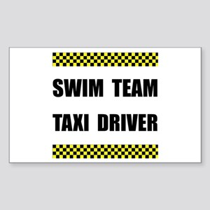 Swim Team Taxi Driver Sticker