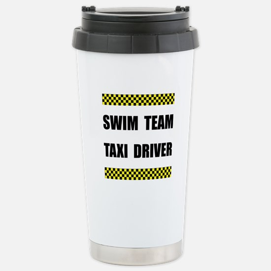 Swim Team Taxi Driver Travel Mug