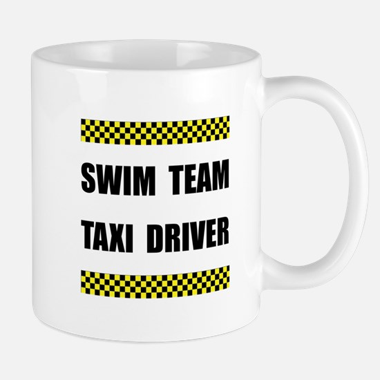 Swim Team Taxi Driver Mugs