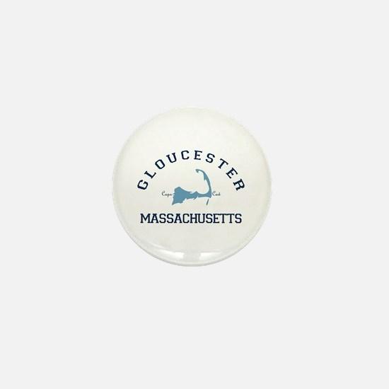 Gloucester - Cape Cod. Mini Button