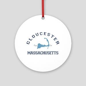 Gloucester - Cape Cod. Ornament (round)