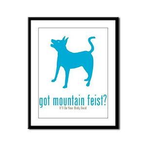 Mountain Feist Framed Panel Print