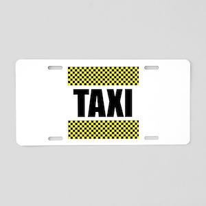 Taxi Cab Aluminum License Plate