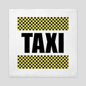 Taxi Cab Queen Duvet