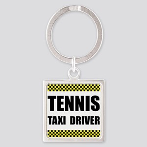 Tennis Taxi Driver Keychains