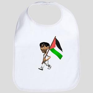 Palestine Boy Bib