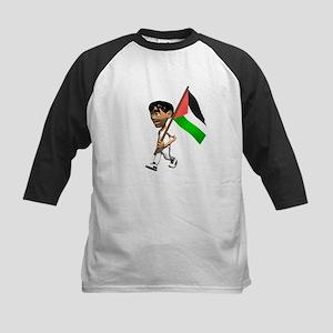 Palestine Boy Kids Baseball Jersey