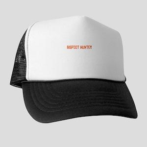 Barber By Day Bigfoot Hunter By Night Trucker Hat