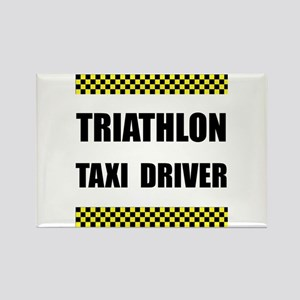 Triathlon Taxi Driver Magnets